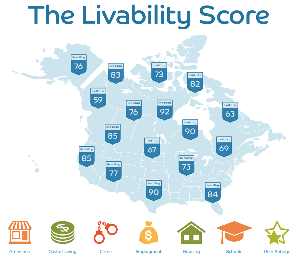us livability map